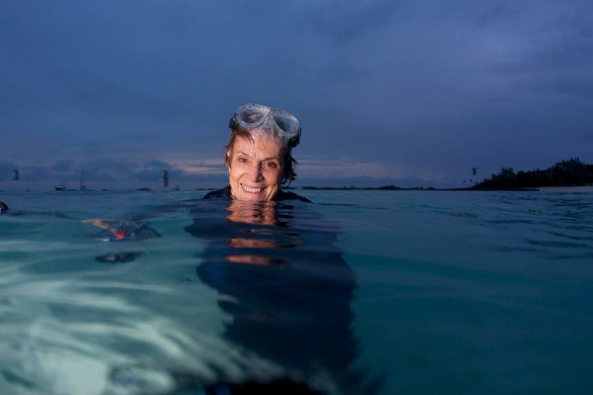 SAGE Features Hero for the Planet, Dr. Sylvia Earle