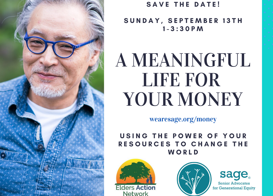 Save the Date! A Meaningful Life for Your Money