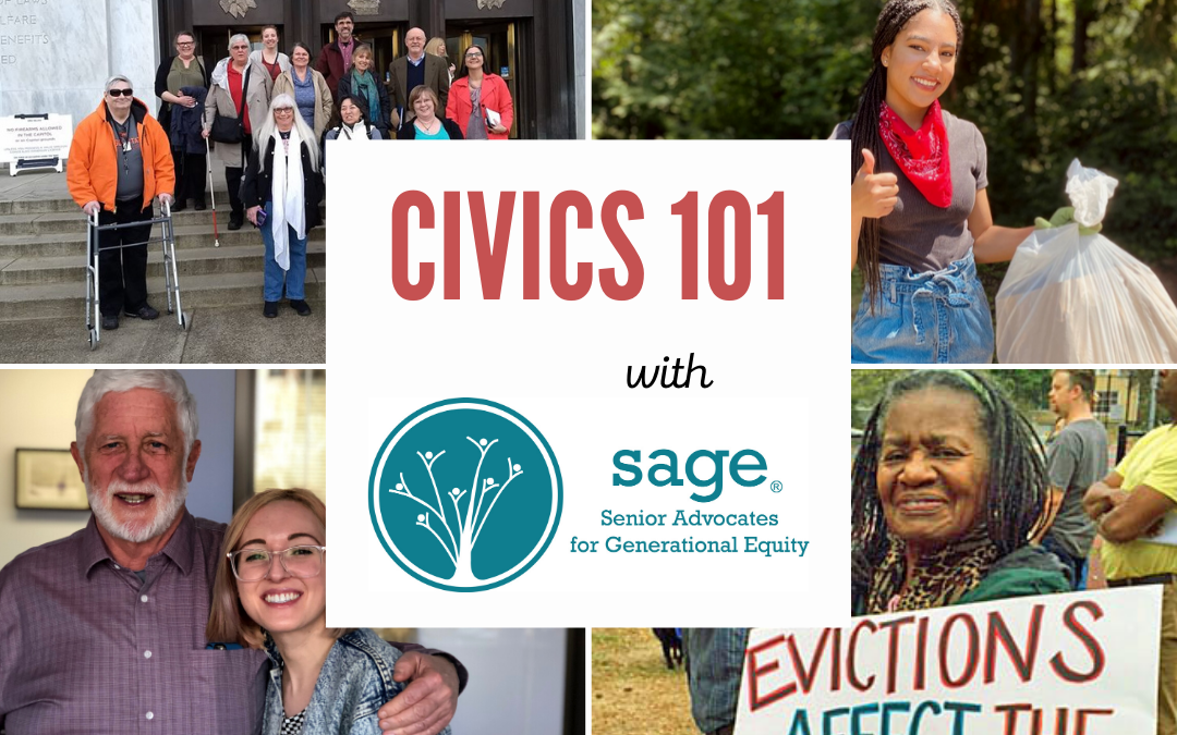 OCTOBER: CIVICS 101 – Learn about local government and how YOU can make an impact!
